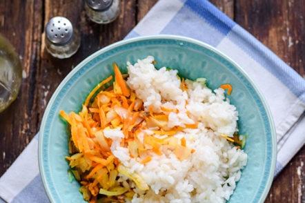микс пържен и ориз