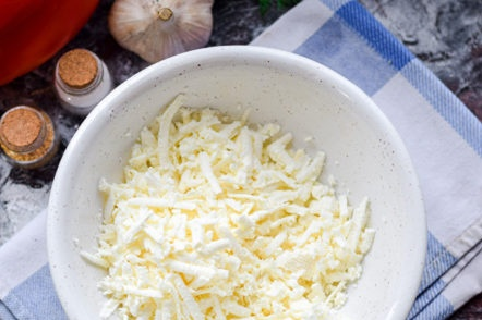 grated white cheese