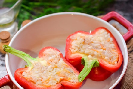 Stuffed Pepper Halves