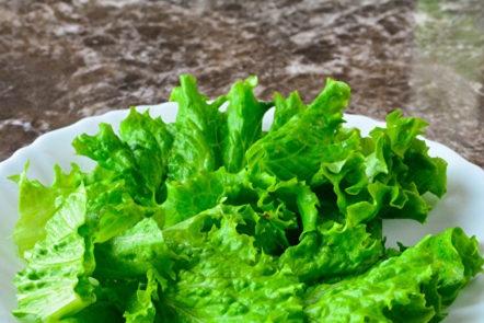 salade coupée