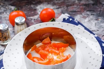 couche de tomate