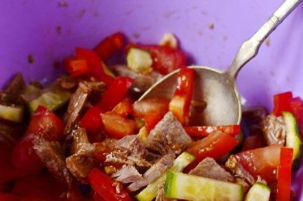 seasoning vegetables