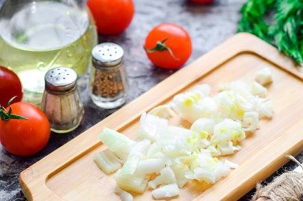 chopped onion