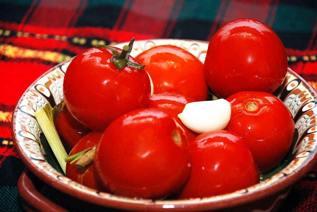 Tomates à mariner