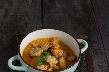 приготвена мидена супа