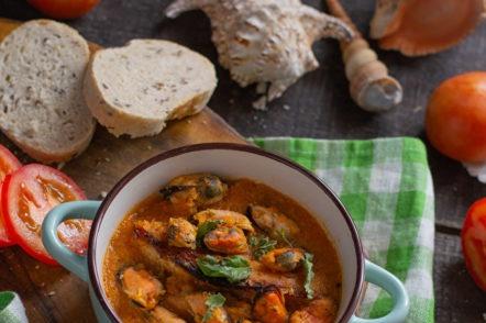 Сицилианска зеленчукова супа