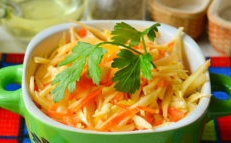 cabbage salad with peppers