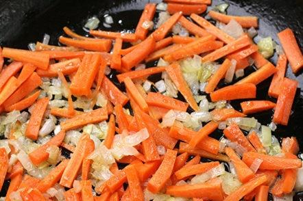 моркови и лук