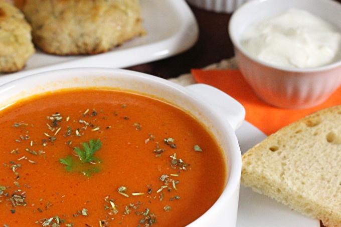 пюре от доматена супа