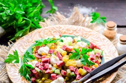salade qui n'a pas besoin de cuisiner