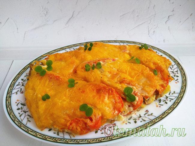 casserole de légumes au four