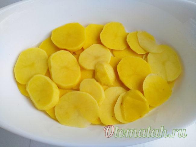mettre les pommes de terre