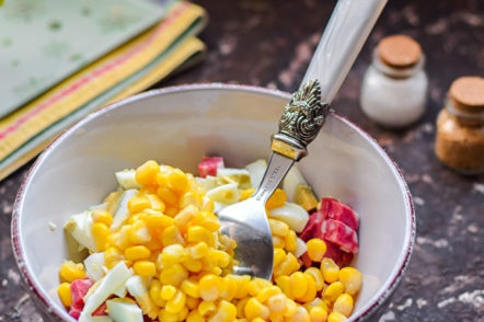 ajouter du maïs