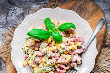 pailles à salade