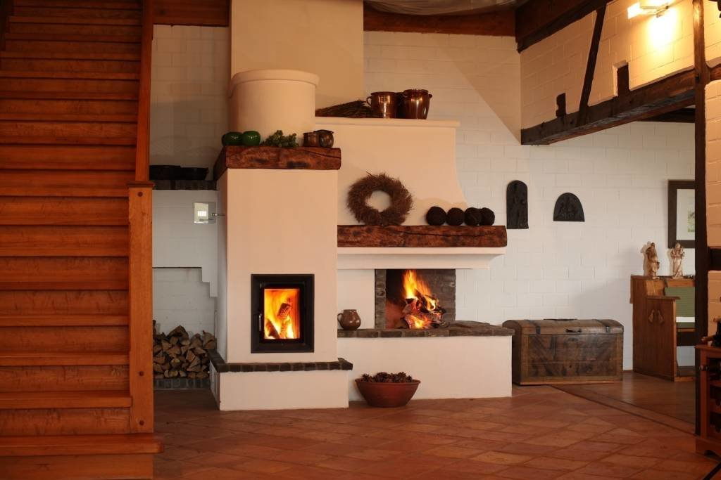 stove in a modern interior